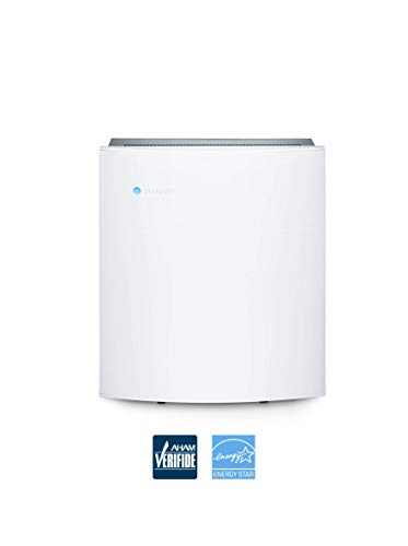 Blueair Classic 205 Air Purifier with HEPASilent Filtration for Allergen and Hay Fever Reduction, Small Rooms 279 sq. ft. WiFi Enabled, ALEXA compatible