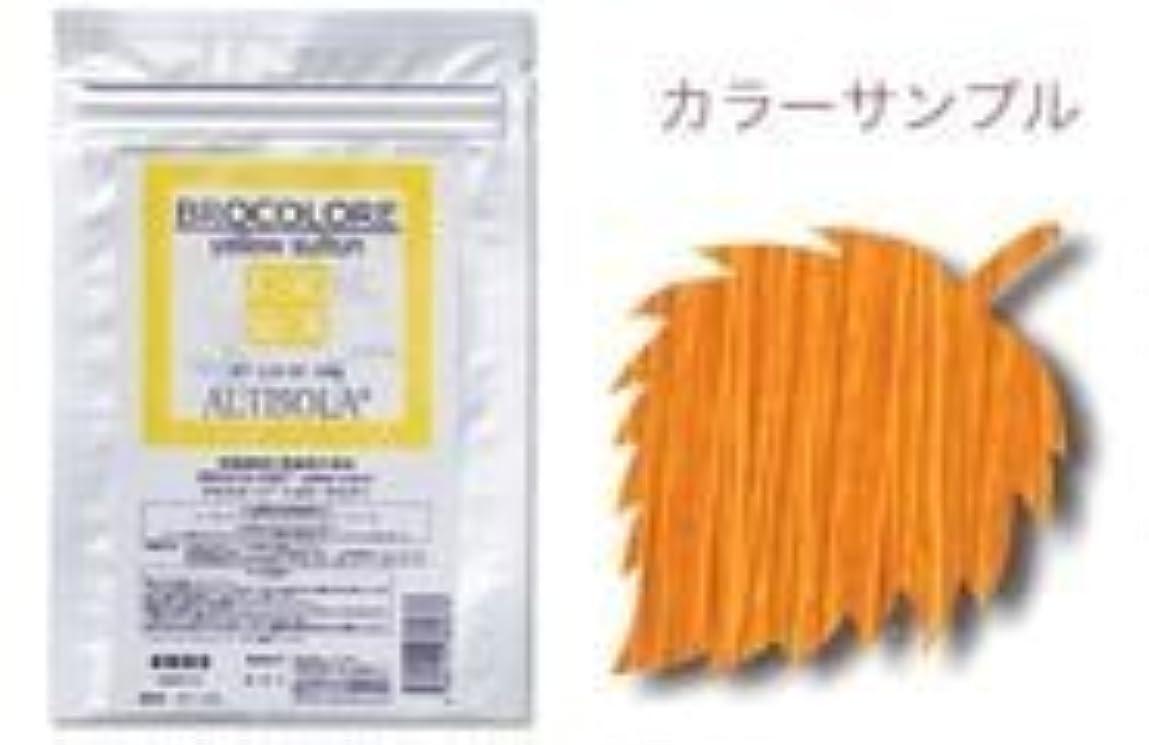 味不可能なドリルグランデックス 和漢彩染 ブロコローレ イエローサルタン 120g