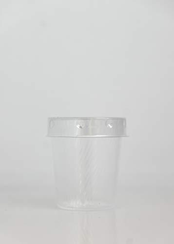 Vasos Plastico Con Tapa 250Ml vasos plastico  Marca Generico