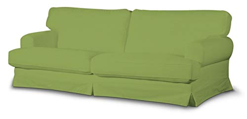 Dekoria Ekeskog Sofabezug Nicht ausklappbar Husse passend für IKEA Modell Ekesgog Limone-grün