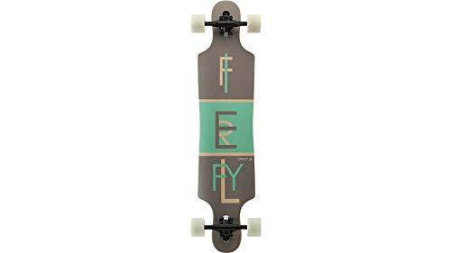FIREFLY Longboard Freeride 2.5, grau/grün/holz