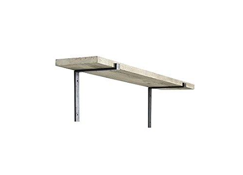 Nkuku Batu wandplank massief mangohouten plank klein 90 cm