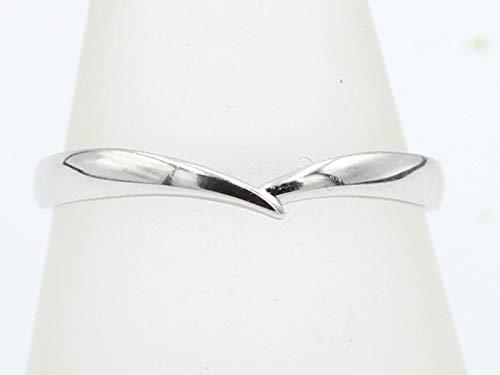 [京都ジュエリー工房] 結婚指輪 マリッジリング ペアリング メンズ ユニセックス 指輪 11-55553 K18 ホワイトゴールド 16号