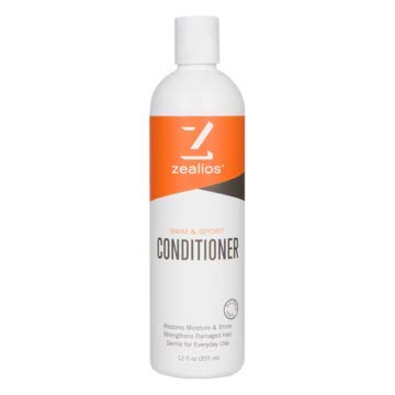 Zealios Swim Conditioner | Protects & Repairs Swimmers Hair Damaged by Pool Chemicals, Chlorine, Saltwater & Sun - Daily Use & Treated/Color Hair Safe 12 oz