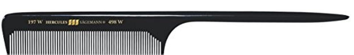 海藻脈拍西Hercules S?gemann Long Rounded Tail Hair Comb with wide teeth 8?