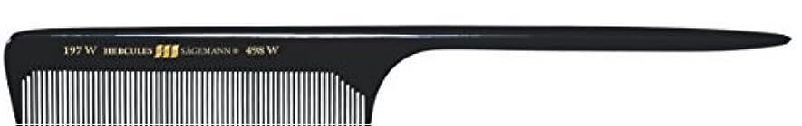 病者キャビン刈り取るHercules S?gemann Long Rounded Tail Hair Comb with wide teeth 8?