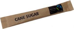 Purgustto Fairtrade Zuckersticks, Braun, 1000 Stück