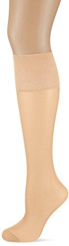 Dim Mes Essentiels mini medias Pack 3, 15 DEN, Beige (Capri 797), One Size (Tamaño del fabricante:35/41) Mujer