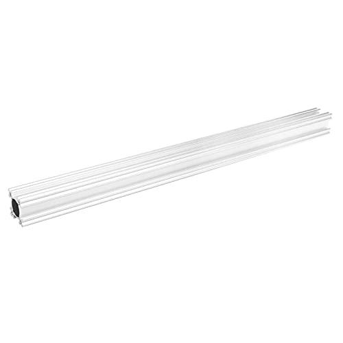 Riel lineal con ranura en T, marco de extrusión Rendimiento estable Riel de extrusión de aluminio con ranura en T para sala de estar para el hogar