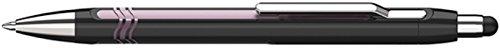 Schneider Slider Epsilon Touch Stylus/Ballpoint Pen, Black/Pink Barrel, Blue (138704)