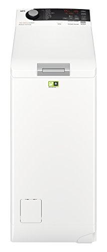 AEG L7TE74265 Waschmaschine/Energieklasse A+++ (122 kWh pro Jahr)/6 kg/ProSteam Technologie/ProSense Mengenautomatik/Knitterschutz/Toplader Waschautomat/Weiß