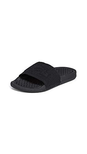 APL: Athletic Propulsion Labs Women's Big Logo Techloom Slide Sandals, Black, 10 Medium US