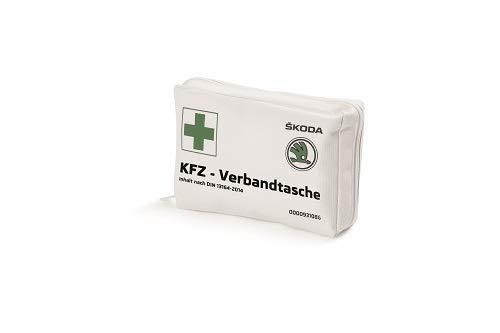 Skoda Verbandstasche DIN 13164-2014; weiß - 000093108G