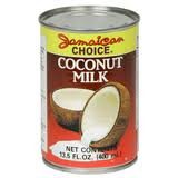Jamaican Choice Coconut Milk | (13.5 oz) 3-Pack