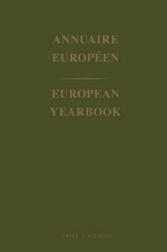 European Year Book (Annuaire European / European Yearbook, Band 41)