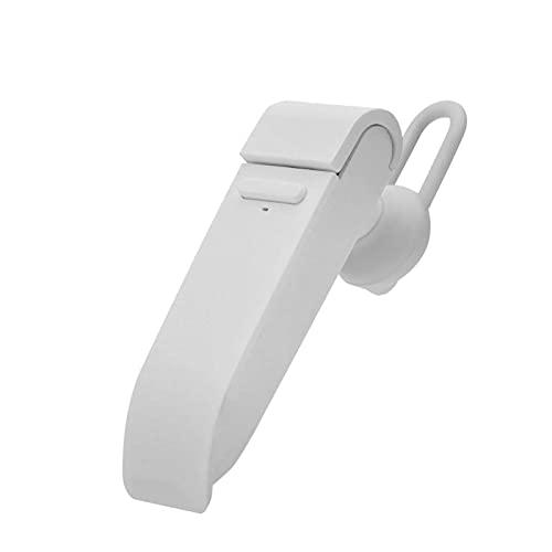 Traductor de lenguaje inteligente, traducción multilingüe inalámbrica Bluetooth portátiles admite 22 idiomas. Salida de audio de alta fidelidad, para aprendizaje, negocios (blanco) mei