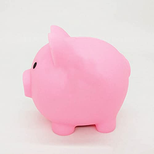 DEIOKL Cajas de Dinero con Forma de Cerdo de Dibujos Animados, Juguetes para niños, Regalo de cumpleaños, decoración del hogar
