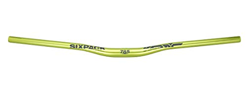 SixPack Racing Vertic Cintre VTT Adulte Unisexe, Electric Green, Unique