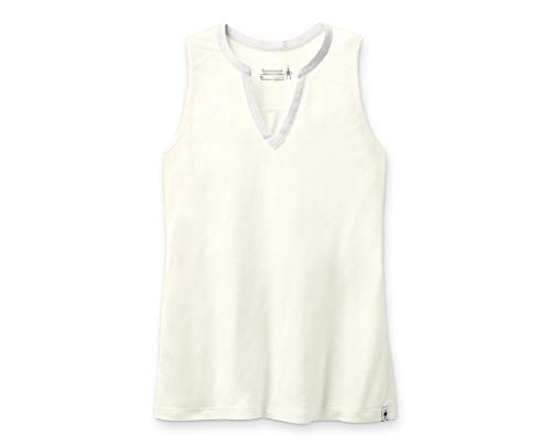Smartwool Women's Everyday Exploration Tank Regular Fit Natural Heather, Extra Small