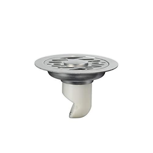 Útil 1 unidad de 11 cm de plástico autosellante y resistente a los olores de la lavadora de drenaje de piso de acero inoxidable de doble uso, conveniente (color: B)