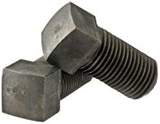 Alloy Steel Case Hardened Black Oxide 3//4 inch Square Head Bolts Full Thread 3//4-10 x 3 Dog Square Head Set Screw Length: 3 inch Coarse Thread Half Quantity: 100