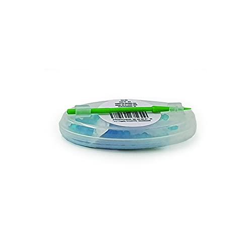 AROMA KING - Premium Menthol Kapseln 100er Set | DIY Menthol Filter für unvergesslichen Flavour Geschmack | inkl. Box zur Aufbewahrung der aromatischen Click Hülsen Kugeln