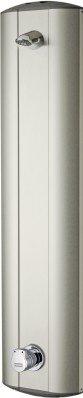 Franke Duschpaneel aus Edelstahl für Aufputzmontage mit Eingriffmischer DN 15
