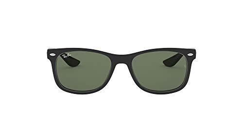 Ray-Ban Rj9052S Gafas de sol, Rectangulares Unisex niños, negro