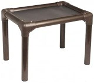 Kuranda Cat Bed - Chewproof - Walnut PVC - Indoor - Elevated - High Strength PVC - Fits a Standard 24x24 - Easy to Clean - Heavy Duty Vinyl Fabric