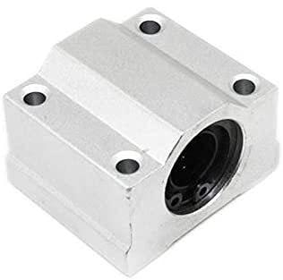 Fácil de reparar Accesorios para impresoras 4pcs / lote SC10UU SCS10UU 10mm Movimiento lineal Cojinete de bola Zapatilla de deslizamiento Eje lineal para For CNC para impresora 3-D Piezas de impresora