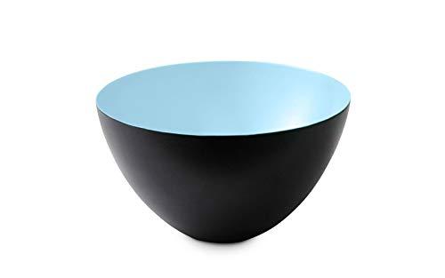 Norman Copenhagen Krenit Deko Schale, Stahl, blau, 14x25cm