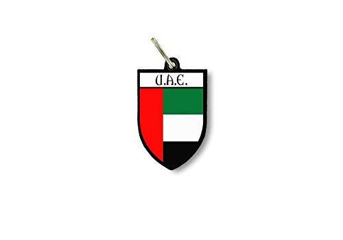 Schlüsselanhänger Schlüsselanhänger Ring Fahne Nationalschild United Arabische Irland