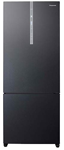 Panasonic 450 L 3 Star ( 2019 ) Inverter Frost-Free Double-Door Refrigerator (NR-BX468XGX3, Black Glass)