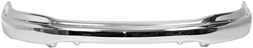 Front Bumper Compatible with 1999-2003 Ford F-150 Chrome with Pad Holes