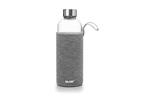 IBILI - Botella de borosilicato y algodón, 550 ml