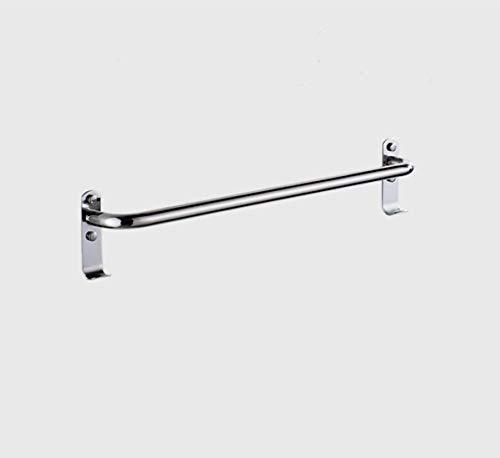 DNSJB - Toallero de toallero, barra gruesa de aluminio, barra gruesa, colgante de baño, barra de suspensión, barra de toalla individual, colgante de baño (tamaño : 110 cm)