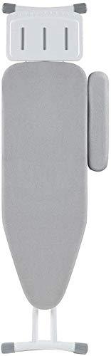 Knoijijuo Un Tablero metálico de Plancha, Tabla de Planchar Plegable Widen Tienda de Ropa de lavandería Centro de Costura de impresión Tapa de Tabla de Almacenamiento Dimensiones: 149 * 36 * 7cm