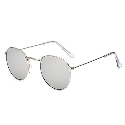 Ifoundyou Sonnenbrille, modern, geometrisch, Metall, schlanke Form, polarisiert, flach, sechseckig, für Damen und Herren Gr. Einheitsgröße, Mehrfarbig 131d