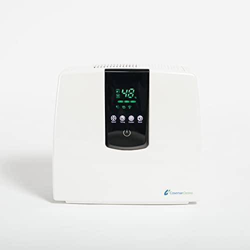 Ozono Hogar   Purificador de Aire Doméstico Digital   Ionizador de Aire con Filtro de Carbón Activo y filtro HEPA   Para...