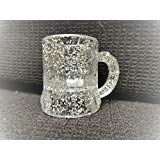 Better Plastics 100 Pack Small Mini Clear Mugs Cups for Party, Prizes, Toast, Promotion