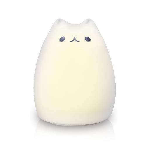 ZNT 萌えニャンコ呼吸ランプ ベッドサイド イル ミネーションライト 24連続照明 間接照明 猫ランプZNT-C101
