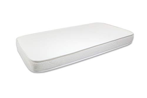 Seasons-Colchón de cuna ,material celular Air Active, Aloe Vera, Antiahogo con malla 3D, 58x118 para cuna de 60x120 cms, blanco (COLESCUNA)