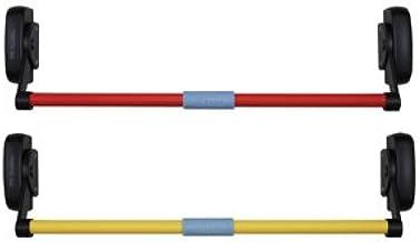 Husuper Dispositivo de Salida Antip/ánico de la Barra de Empuje Barra de Empuje con Alarma Puerta Cerradura de puertas de Escape de Incendios Cerradura de Salida de Barra de Empuje con Alarma