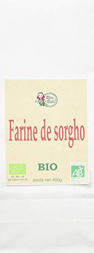 RITA LA BELLE Farine de Sorgho Bio 400 g - Lot de 6