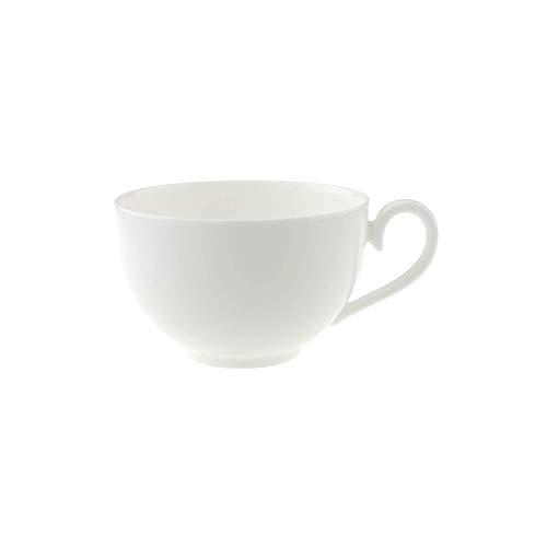 Villeroy & Boch Royal Café au Lait-Tasse, 400 ml, Premium Bone Porzellan, Weiß