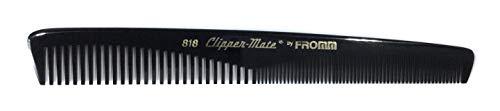 FROMM Clipper-Mate 818 Peigne à cheveux en caoutchouc naturel extra épais 19 cm