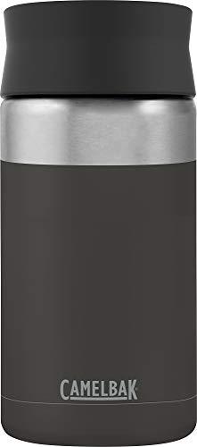 CAMELBAK Unisex– Erwachsene Hot Cap Vacuum Stainless 12oz/350ml, Jet, Schwarz