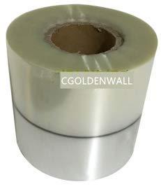 5 Stück halbtransparent Halbsilber Rolle Folie für vollautomatische Teebeutel Verpackungsmaschine Automatik Verpackung Verpackung Maschine Abdichtung Maschine Gewicht und Füllung Verpackungsmaschine