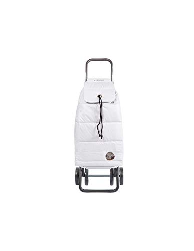 Rolser Carro Pack Polar 4 Ruedas Plegable - Plata