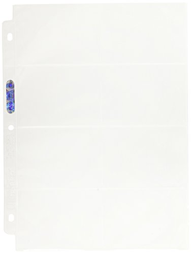 Ultra Pro 150019 – Platinum pages, 8 poches